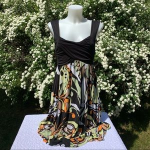 Anthropologie C. Keer Marbella Dress Size Small